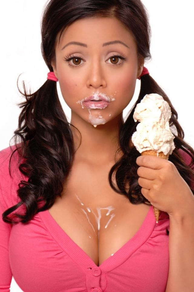messy icecream eater messy icecream eater Sexy not exactly safe for work Food