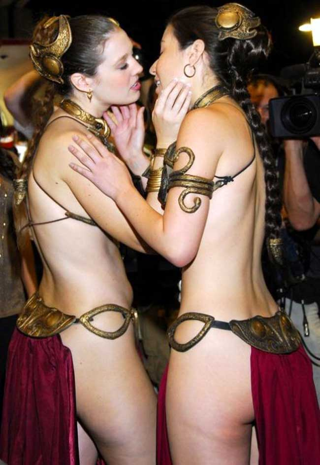 slave leia kissers slave leia kissers star wars slave leia Sexy not exactly safe for work