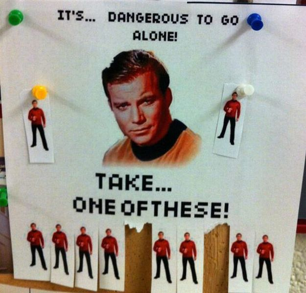star trek its dangerous to go alone star trek   its dangerous to go alone