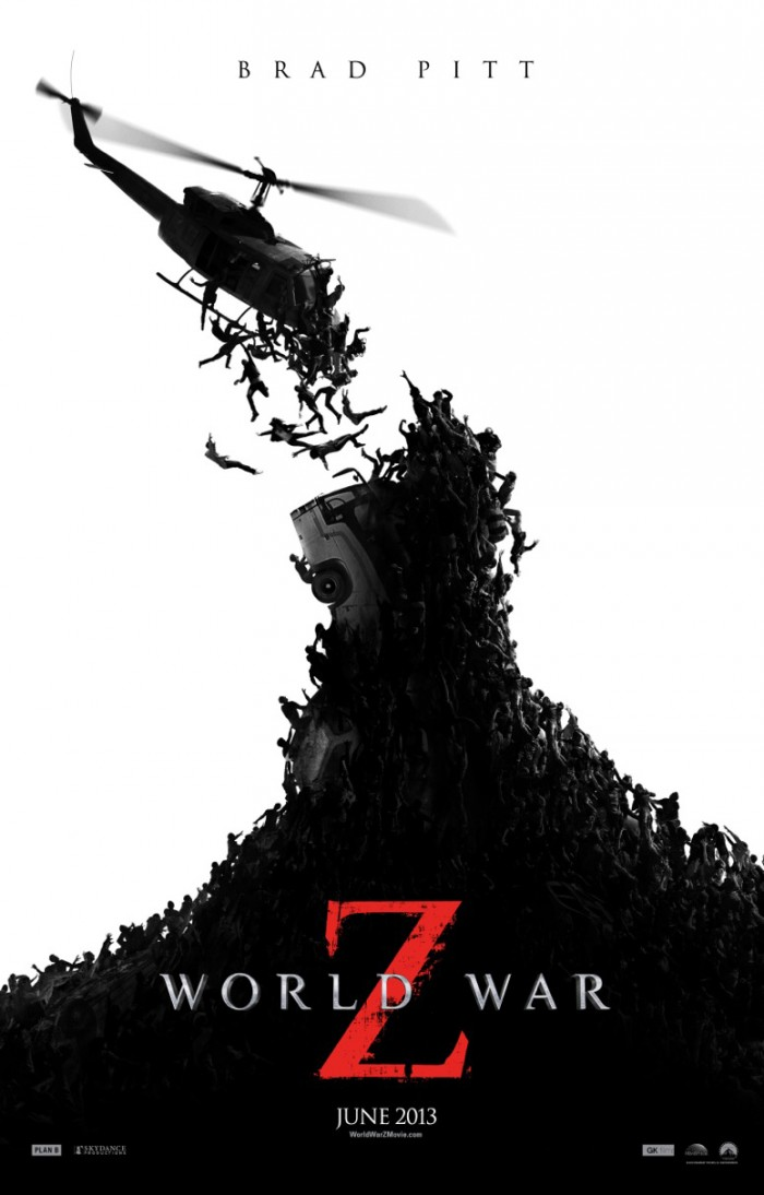 world war z movie poster 700x1094 world war z movie poster