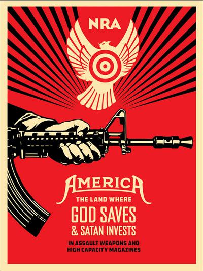 Poster_NRA_Guns_Fairey_Original_400f