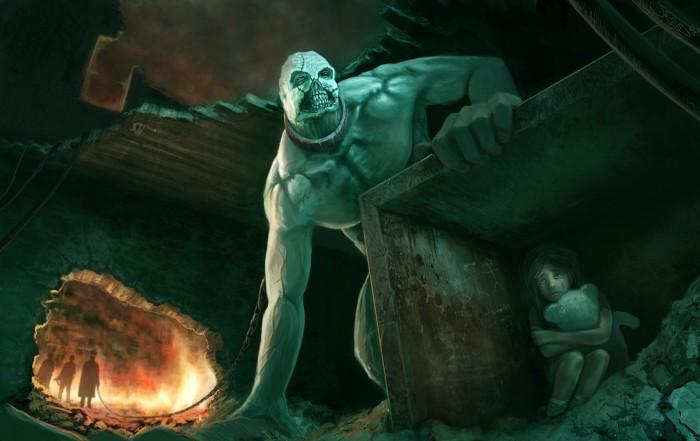 Death monster after girl.jpg