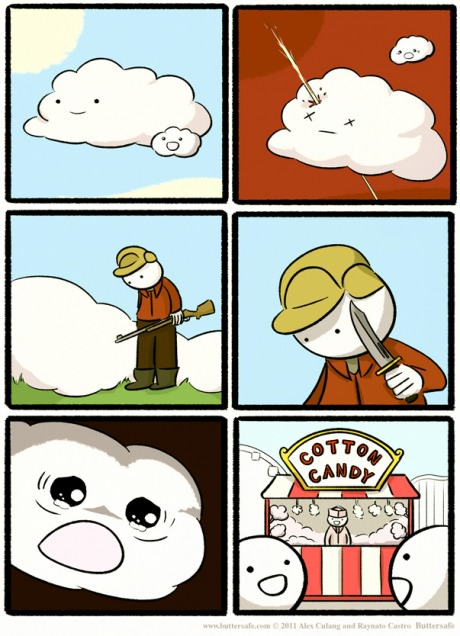 How cotton candy is made