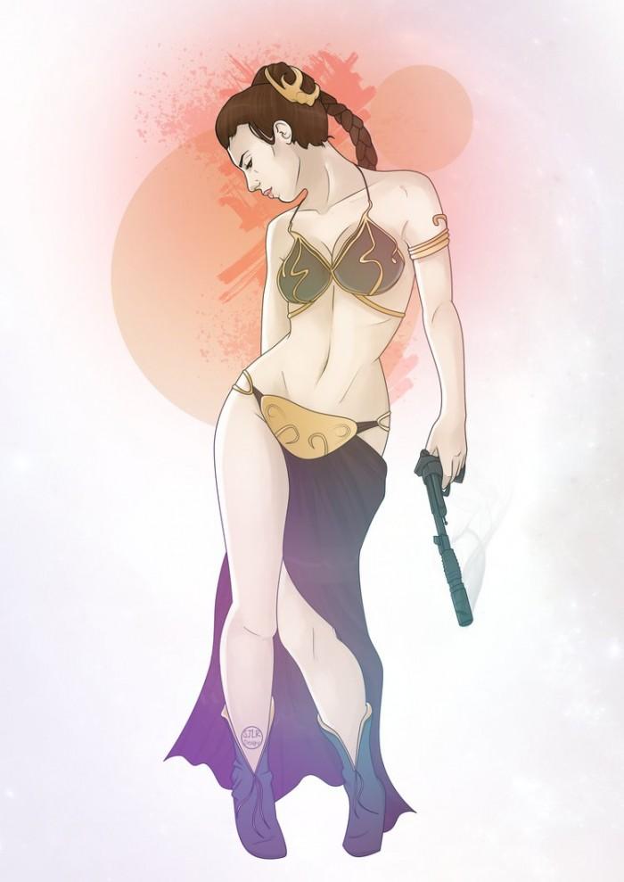 Slave Leia by mcrmorbid.jpg