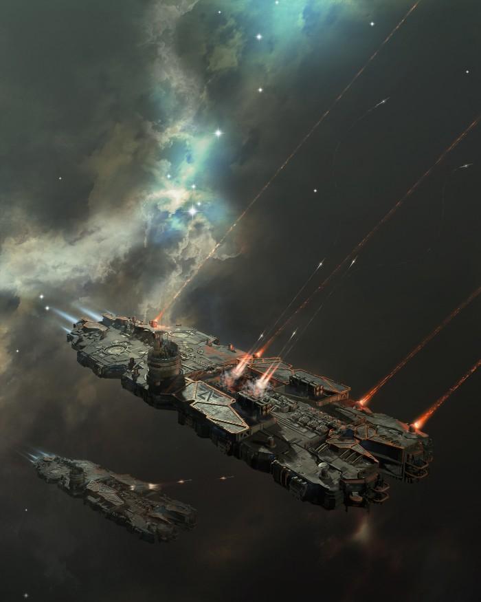 battlecruiser on a mission by oshanin.jpg