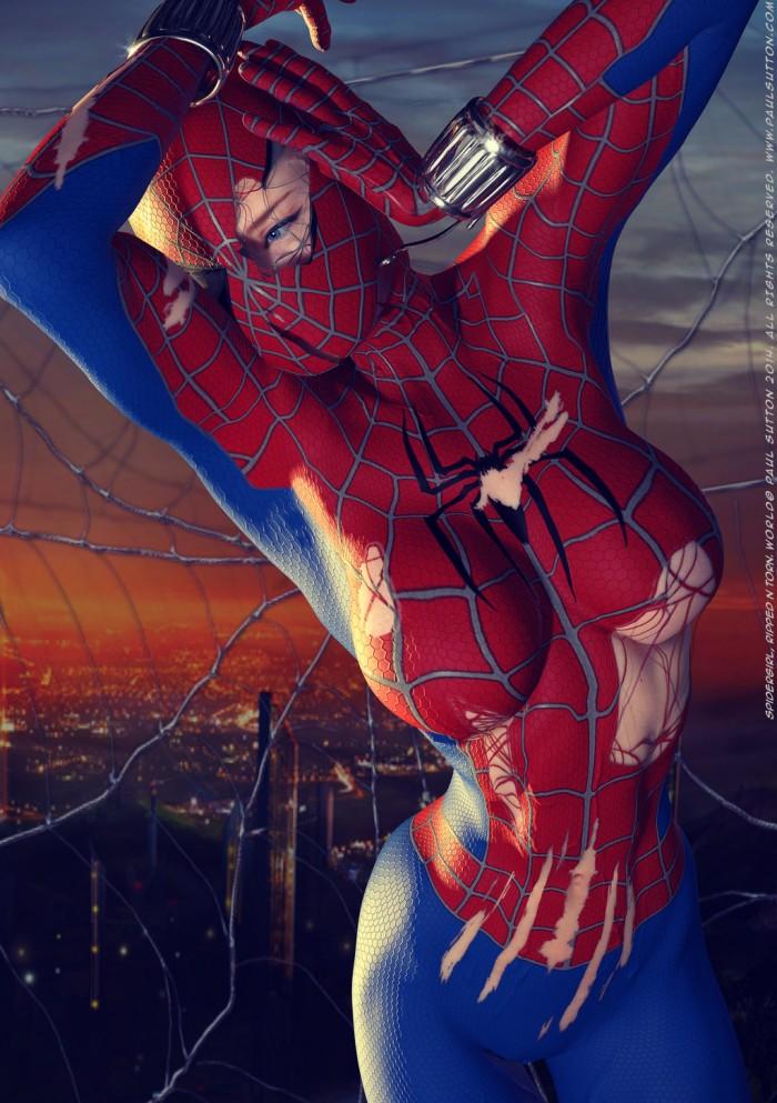 Spidergirl ripped by Blacksheepart.jpg