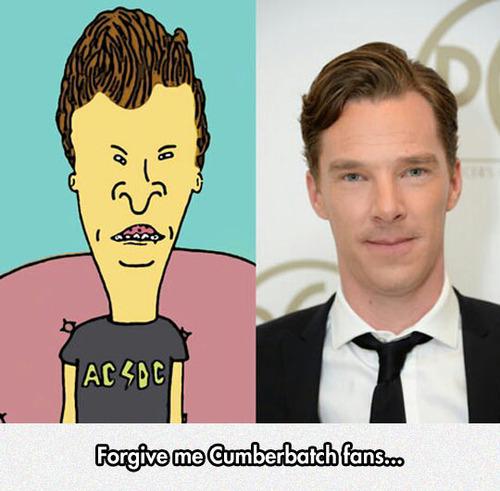Cumberbatch looks like Bevis.jpg