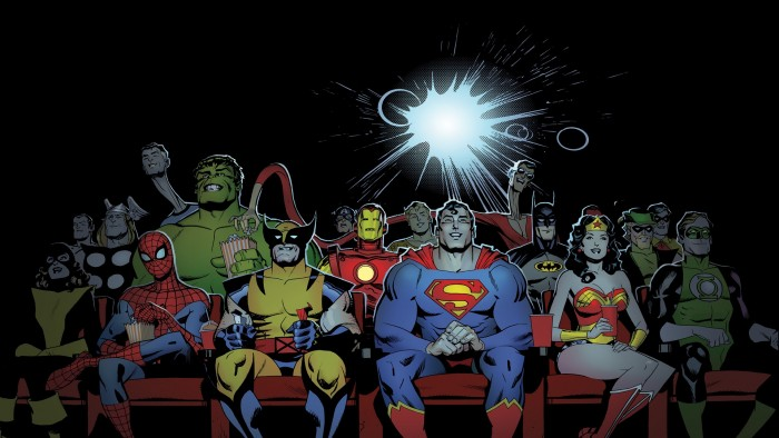 Comic Book Movies Wallpaper 700x394 Comic Book Movies Wallpaper