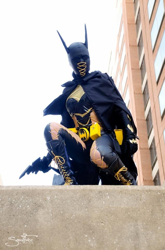 Fushich as Ame Comi Batgirl Fushich as Ame Comi Batgirl
