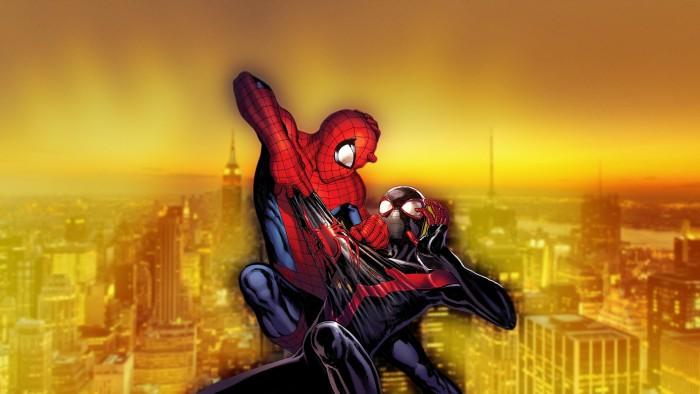 Spider Man Beating up Spider man 700x394 Spider Man Beating up Spider man