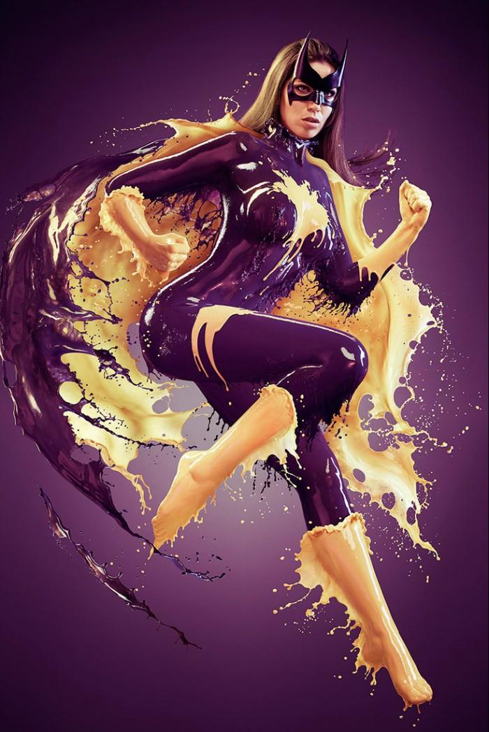 Splashy Batgirl 700x1049 Splashy Batgirl