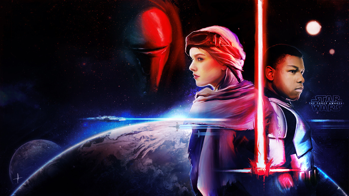 Star Wars The Force Awakens Wallpaper Myconfinedspace