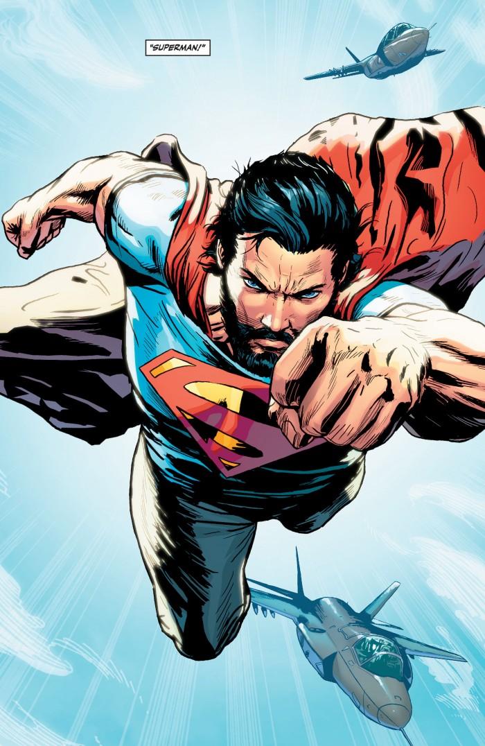 Superman with a beard 700x1076 Superman with a beard