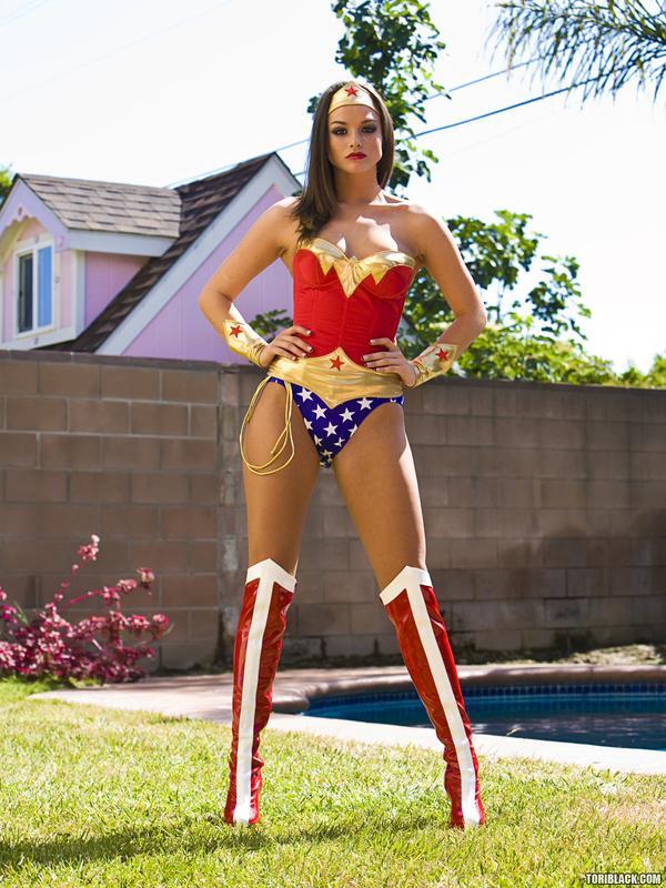 Tori Black as Wonder Woman Tori Black as Wonder Woman