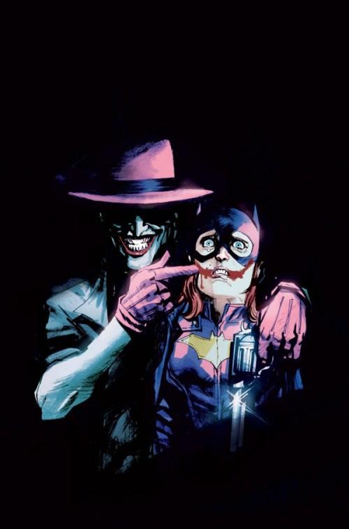 Batgirl 41 Joker Cover Batgirl 41 Joker Cover