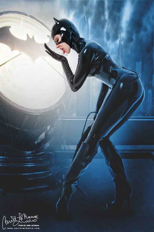 Catwoman cosplay by Carrie LaChance Catwoman cosplay by Carrie LaChance