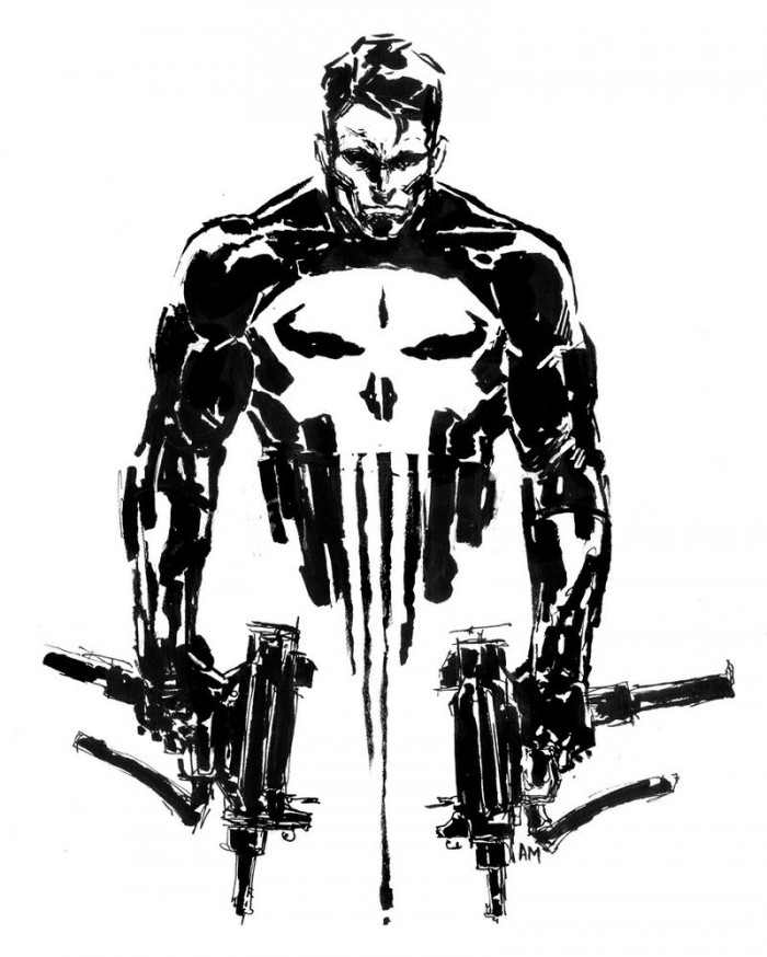 Punisher by Aaronminier 700x874 Punisher by Aaronminier