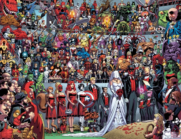 A deadpool wedding 700x537 A deadpool wedding