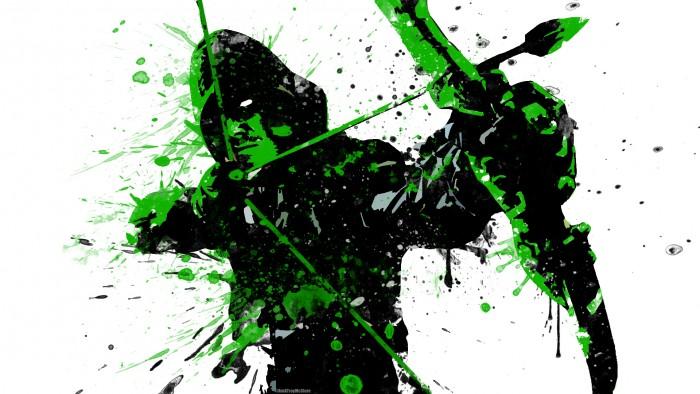 Splatter Arrow in Green 700x394 Splatter Arrow in Green