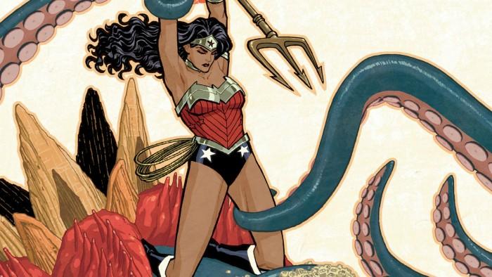 Wonder Woman vs Tentacle 700x394 Wonder Woman vs Tentacle