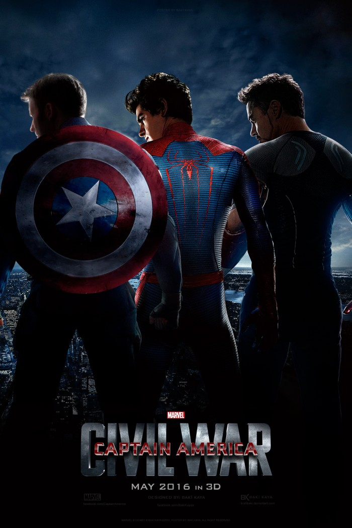 Civil War poster 700x1050 Civil War poster