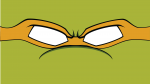 Mikey 150x84 TMNT Faces