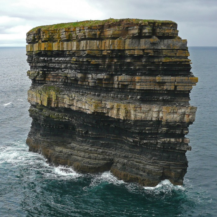 Sedimentary Sea Stack in Ireland.jpg