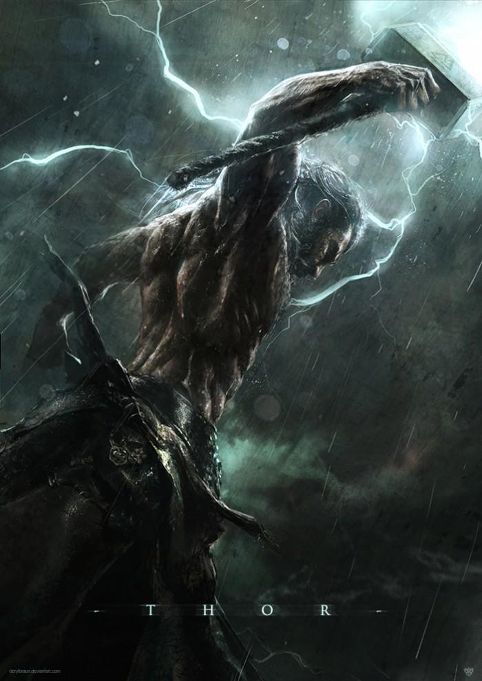 Thor in the rain 700x989 Thor in the rain