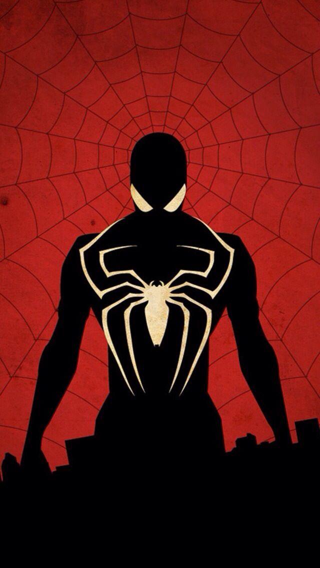spider man in black spider man in black