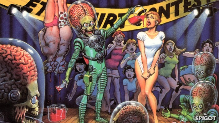 Mars Attacks Wet T Shirt Contest 700x394 Mars Attacks Wet T Shirt Contest