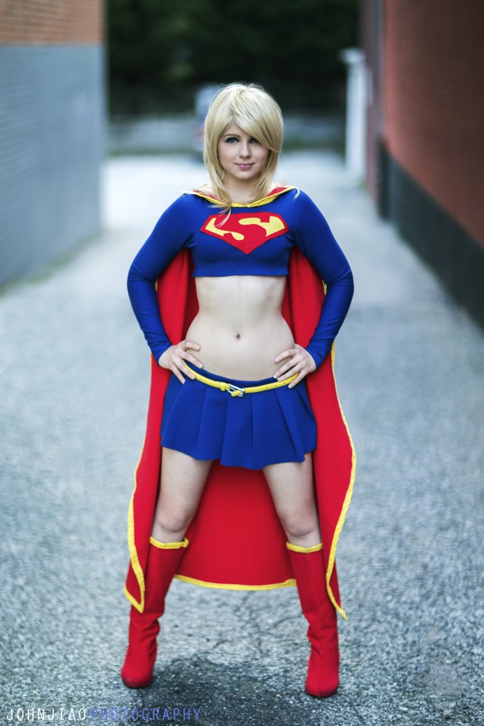 Sarah Fong as Supergirl 700x1050 Sarah Fong as Supergirl