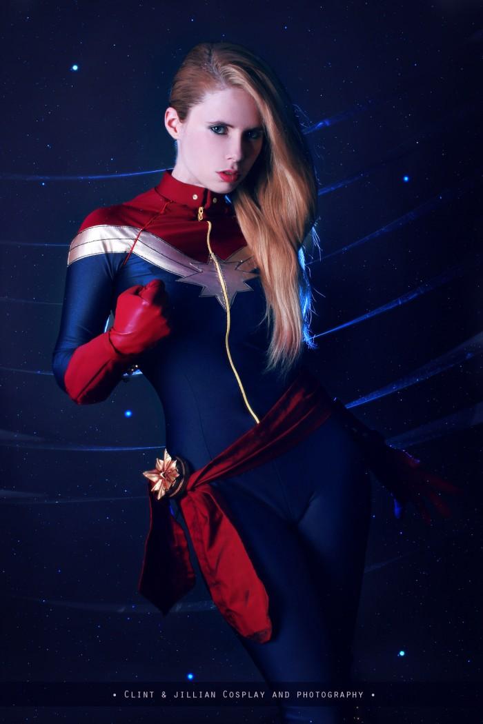 Florencia Sofen as Captain Marvel 700x1050 Florencia Sofen as Captain Marvel