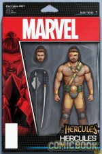 Hercules 150x226 Marvel's All New, All Different relaunch covers