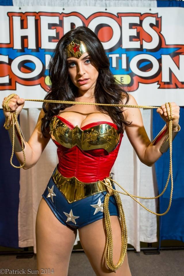 Valerie Perez as Wonder Woman Valerie Perez as Wonder Woman