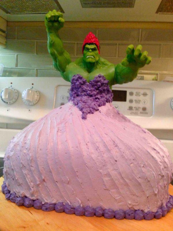Hulk Cake1 Hulk Cake