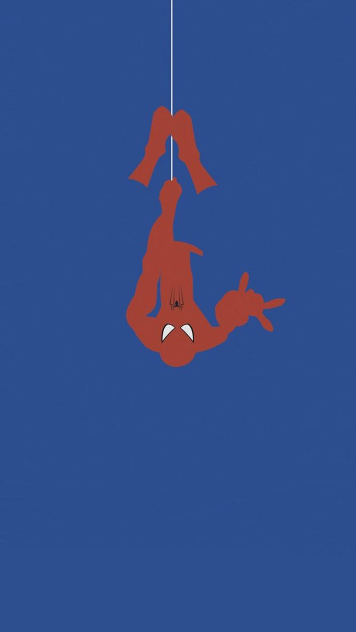 Spider man In BLUE 700x1244 Spider man In BLUE