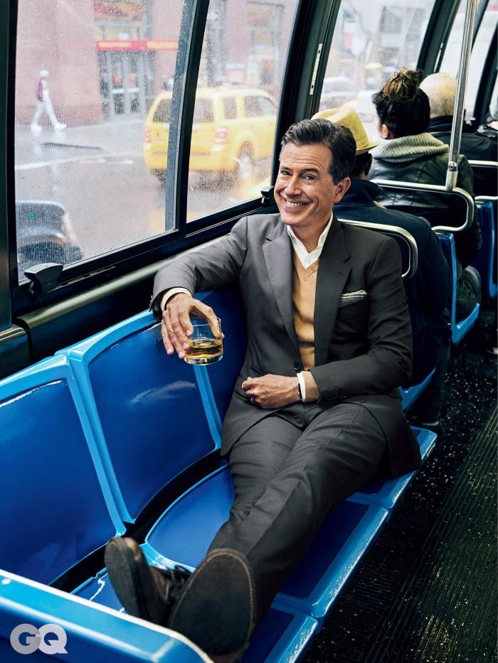Stephen colbert on a bus.jpg