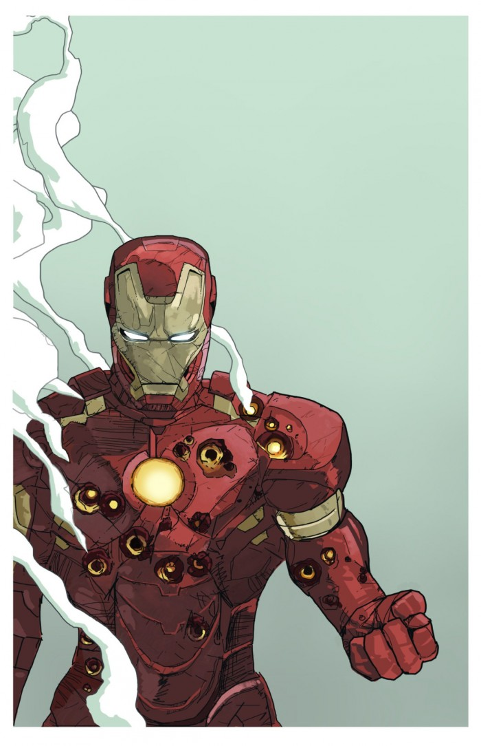 iron man is a bullet sponge by Dave Seguin 700x1084 iron man is a bullet sponge – by Dave Seguin