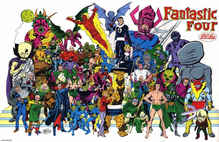 Fantastic Four Montage 700x453 Fantastic Four back with Marvel?
