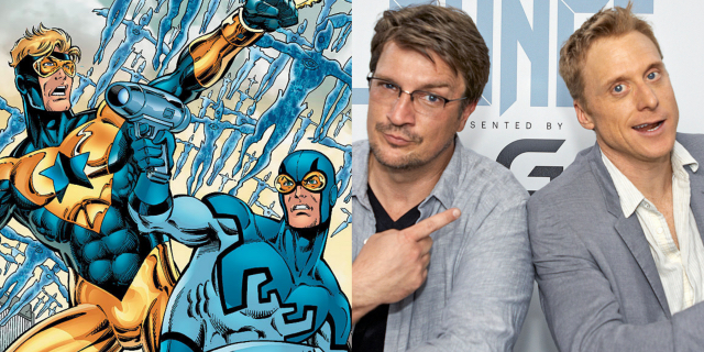hNUBuSW Alan Tudyk Would Play BLUE BEETLE If It Meant Working With Nathan Fillion As BOOSTER GOLD