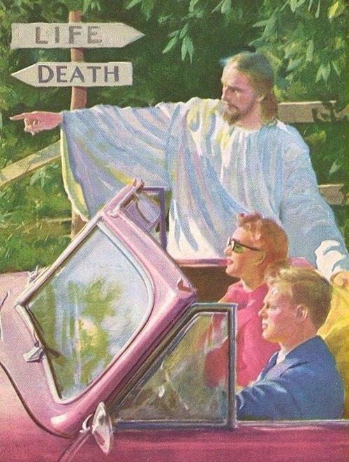 Death straight ahead