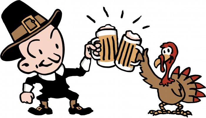 Happy Thanksgiving Wallpaper - beer time.jpg