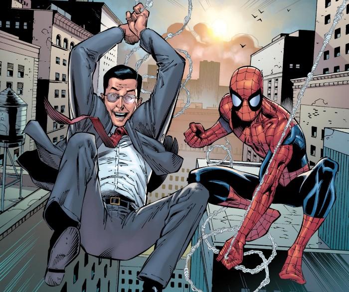 Spider-man and steven Colbert.jpg