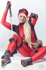 Deadpool Ellei Marie 002 150x225 deadpool blonde cosplayer
