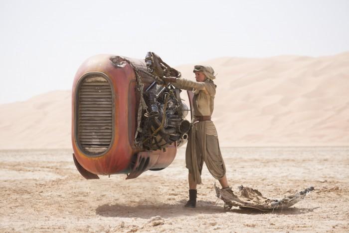 Rey and her speeder.jpg