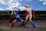 Power Girl Supergirl 003 150x100 supergirl and powergirl cosplay