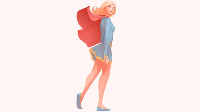 Supergirl wallpaper 700x394 Supergirl wallpaper