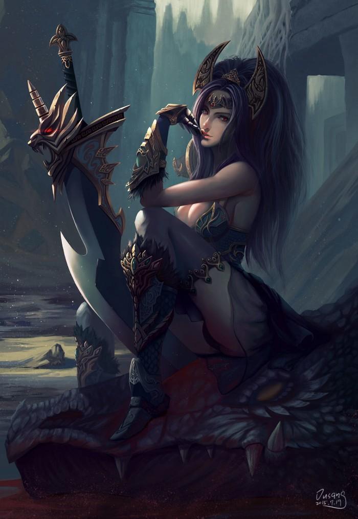 Fantasy Woman with massive sword.jpeg