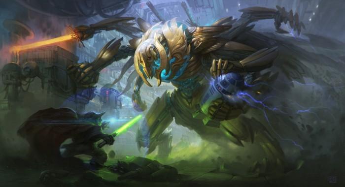 Grievous vs Yoda by Timur Dairbayev.jpg