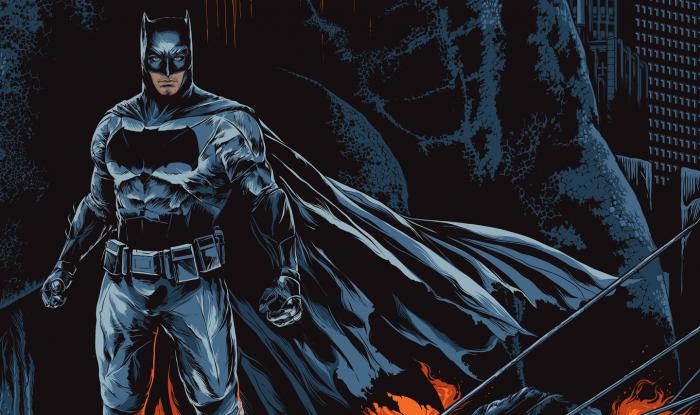 Batman in his cave 700x415 Batman in his cave